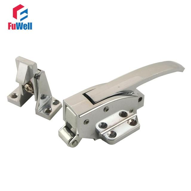 1pc Zinc Alloy Oven Door Handle Lock Spring Loaded Adjustable ...