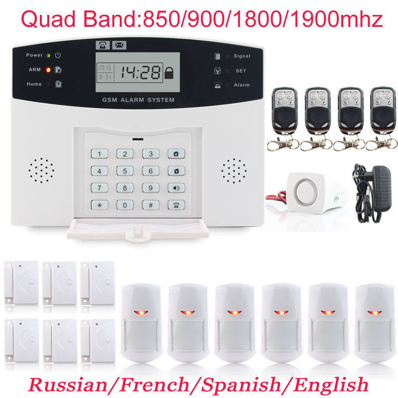gsm wifi alarm system manual