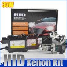 H4-3 H4 35w car bixenon hid kit h4 high low H13 9004 9007 Hi Lo HID Kit 5000k 6000k 8000k 4300k 12000k for Car Headlights