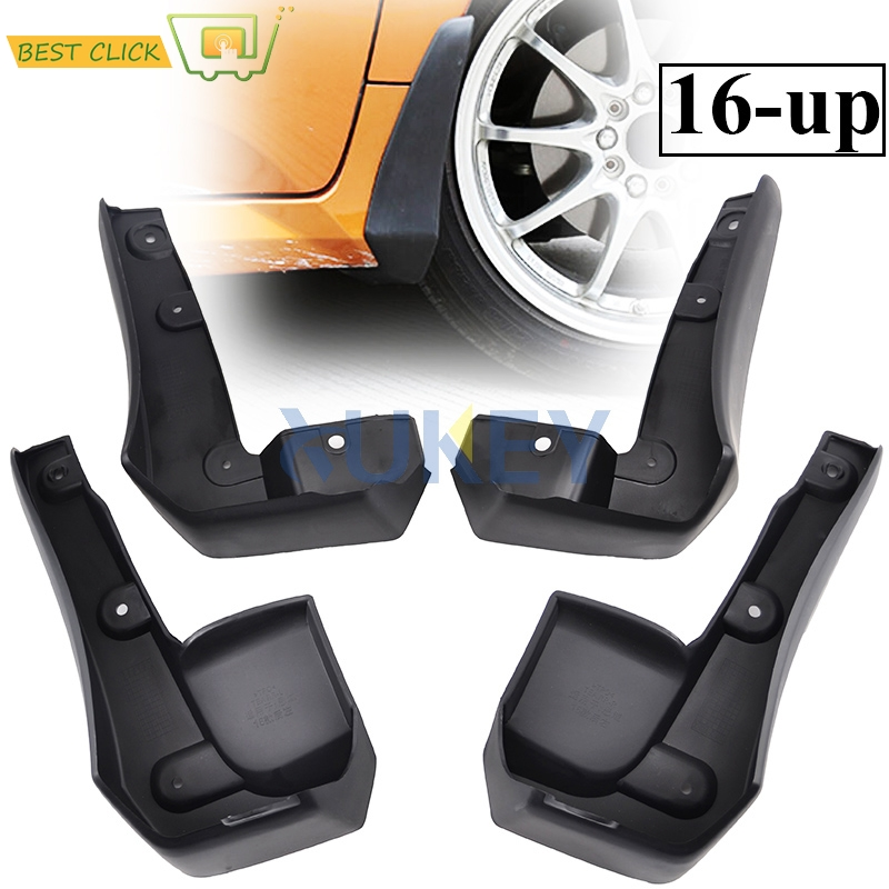 Set Mud Flaps For Honda Accord Sedan 2018 Splash Guard Fender Front Rear 2019