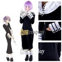 Soul Eater Chrona Cosplay del Anime Nueva Caliente Vestido de Fiesta de Halloween Ropa