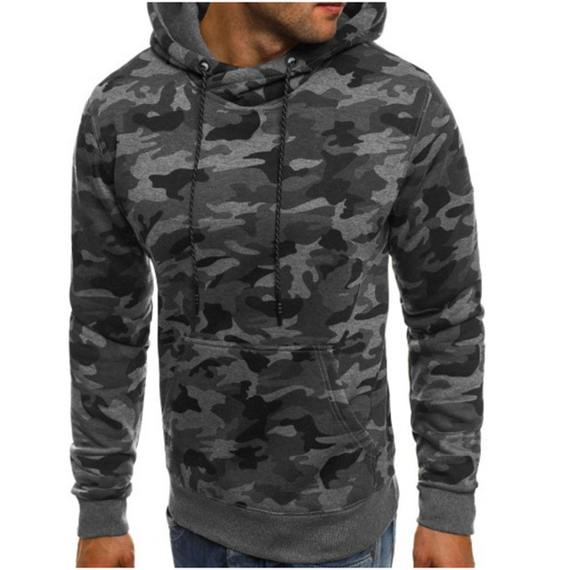 Camouflage Hoodies Men 2018 Hip-hop Sweatshirt Male Camo Hoody Hip Hop  Autumn Winter Fleece Hoodie XXXL 2d4c5db2014