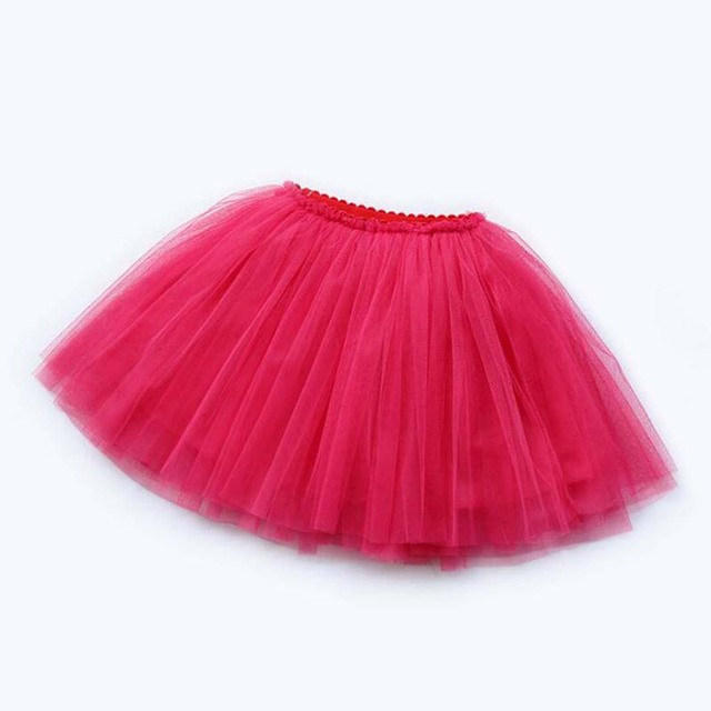 girls skirts princess lovely tutu skirts for 1-12Years kids spring summer clothes 21 color short girls lace skirt dance clothes 3