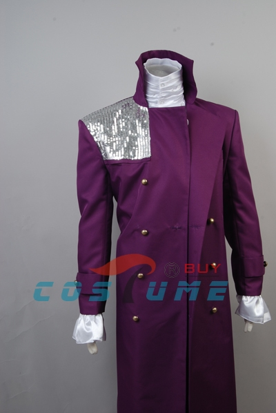 Prince Purple Rain Cosplay Costume Whole Set Halloween Set 3