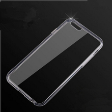 Ultra Thin Soft TPU Gel Original Transparent Crystal Clear Silicon Back Coque for iPhone X 8 4 4S 5 5S SE 5C 6 6S 7 Plus Case
