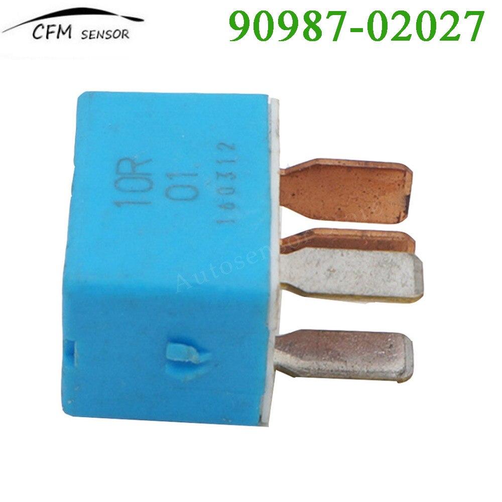 90987 02027 For Toyota Relay Scion AC Fan Horn Fog ECM Clutch Fuel ...