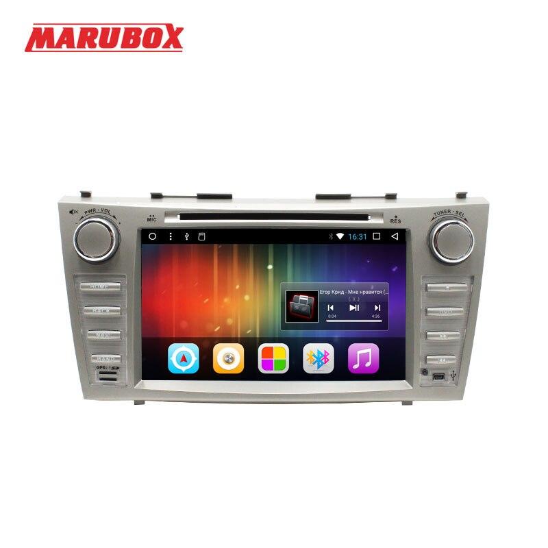 MARUBOX 2 DIN Android 7.1 Autoradio Pour Toyota Camry 2006-2011 GPS Navi Stéréo Radio Voiture Lecteur Multimédia avec DVD 8A101DT3