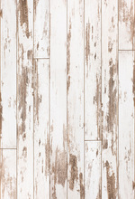 Vintage Wood Photography Backdrop newborn backdrop white wood planks floordrop digital printed studio photo background D-7619