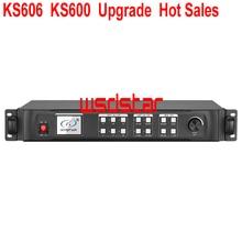 KS606 KS600 อัพเกรดขายร้อน LED Video Wall โปรเซสเซอร์ P5 P6 P10 P1.2 P1.0 P0.8 P0.6 ในร่ม LED เปลี่ยน KS600