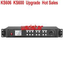 KS606 KS600 aktualizacji gorąca wyprzedaż led sterownik wyświetlaczy naściennych P5 P6 P10 P1.2 P1.0 P0.8 P0.6 wewnętrzny ekran led zastąpić KS600