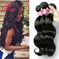 7A grau rainha de cabelo produtos peruanos onda do corpo 3 Bundles / Lot não transformados cabelo humano Weave peruano virgem cabelo onda do corpo 3 Pcs