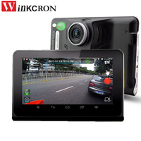 Car Video Dvr 7 Gps Navigation Radar Detector HD1080P GPS Android Auto Camera G Sensor With