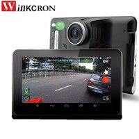 Car Video Dvr 7 Gps Navigation Radar Detector HD1080P GPS Android Auto Camera G Sensor With
