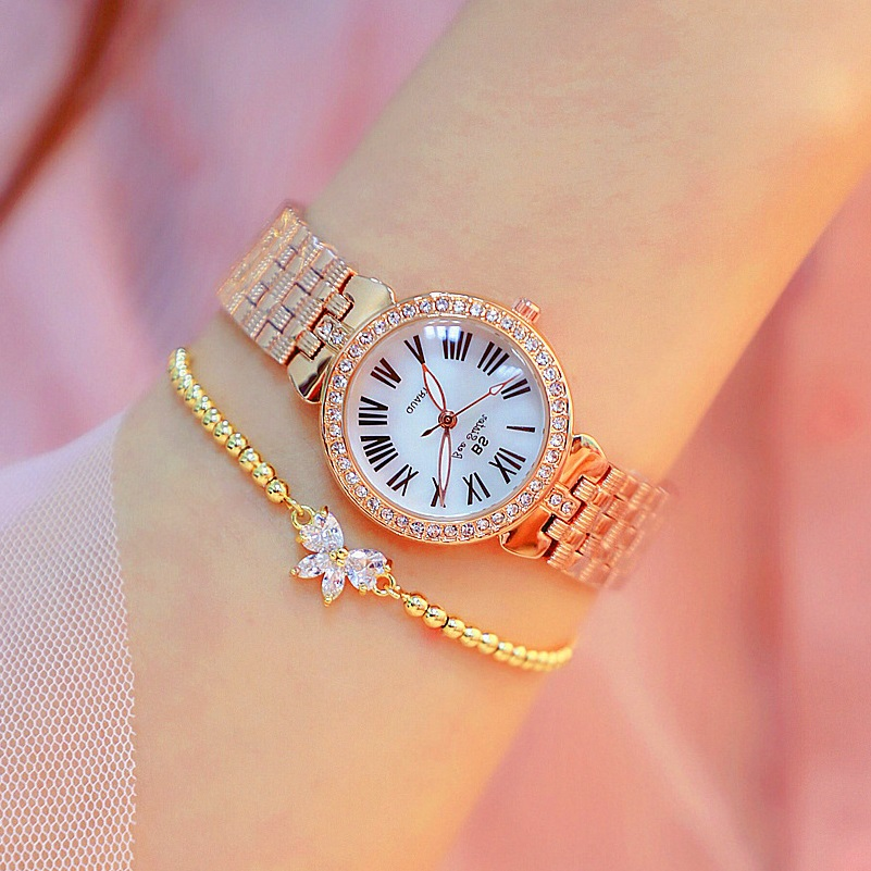 Simple Roman Dial Women Watches Lady's Elegant Charm Business Watch Girl Fashion Casual Quartz Watches Orologio Donna Relogio