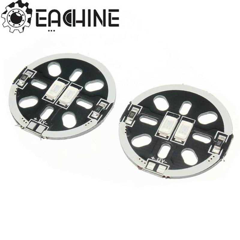 High Quality Eachine Wizard X220 Spare Part LED X2/5V Motor Mount For 1806 2206 Motor For RC Model