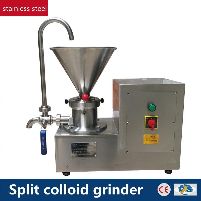 220V Commercial Split Type Colloid Grinding Machine Dendrobium Sesame Peanut Butter Chocolate Ice Cream Emulsifying Machine цена