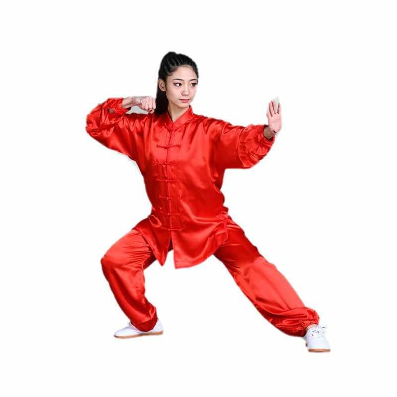 Chinese Tang Wing Chun Uniform kung fu uniform wushu Kleding Tai Chi Martial Art Suit taiji Kleding jas broek sets