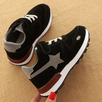 Spring Autumn High Quality Children Casual Shoes Hook Loop Fashion European Baby Girls Boys Sneakers Solid