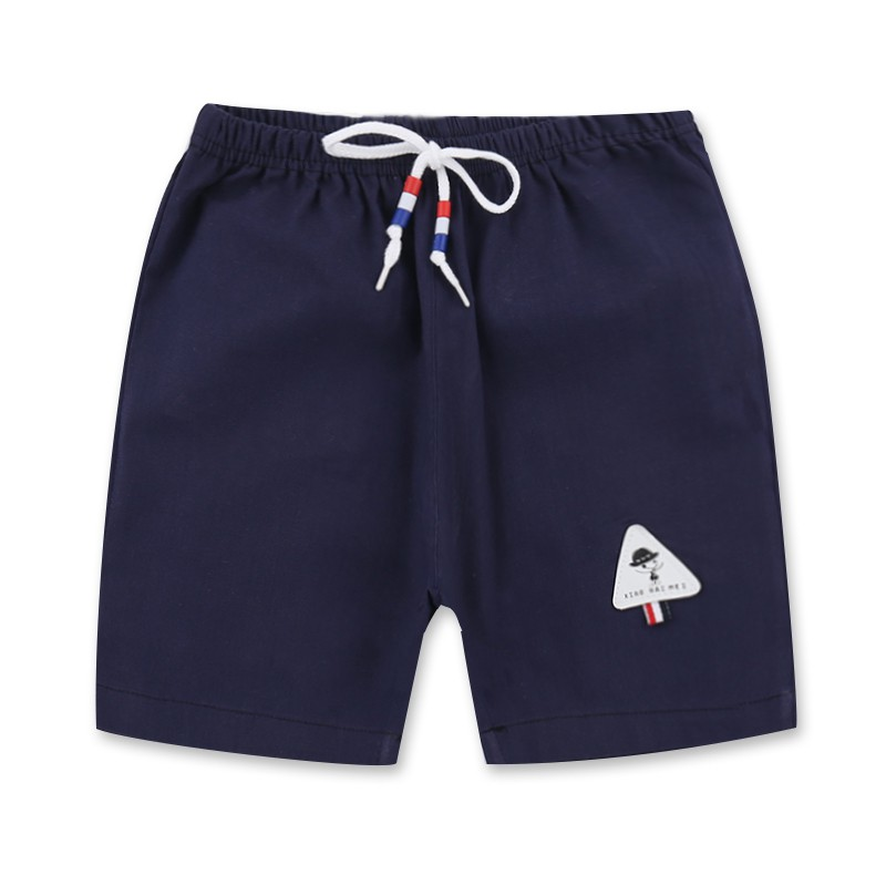 Kids Clothing Baby Cotton Short Summer Boys Girls Harem Beach Pants Toddler Cartoon Print Shorts Casual Style A19
