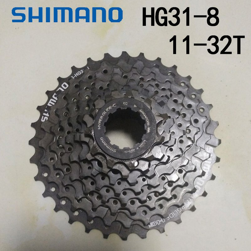 <font><b>Shimano</b></font> CS-<font><b>HG31</b></font>-<font><b>8</b></font> Bicycle freewheel <font><b>8</b></font>-Speed Cassette 11-32T Mountain Bike MTB Cassette image