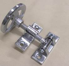Oven Parts Chrome plated Iron hand wheel handle hinge(China)