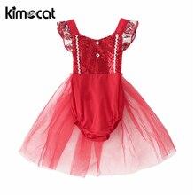 цена на Kimocat Baby Girl Clothes Christmas Dress Sequins Gauze Lovely Princess Vestido Infantil Christmas Clothes Birthday Dress