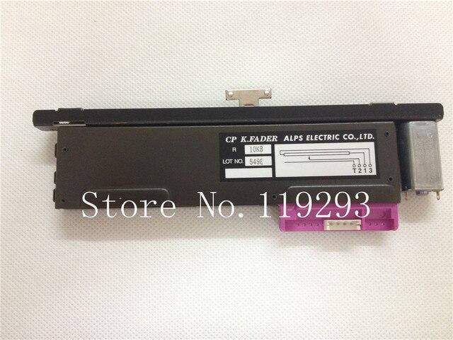 새로운 원본 CP K.FADER ALPS 전기 CO, LTD 10KB B10K 13MM T 핸들 모터 레일 페이더 NC 대만 슬라이드 포 텐 쇼 미터 10PCS