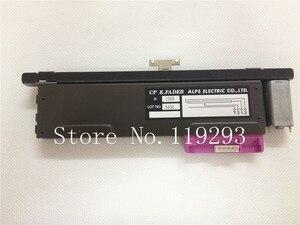 Image 1 - ใหม่ Original CP K.FADER ALPS ELECTRIC CO, LTD 10KB B10K 13MM T Handle กับมอเตอร์ Rail Fader NC ไต้หวัน SLIDE Potentiometer 10PCS