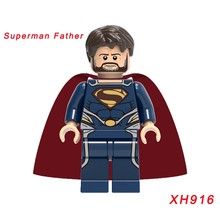 Xh916 Single Sale Legoing Super Heroes Avengers: Infinity War Superman Father Star Wars Building Blocks Christmas Gift Toys(China)