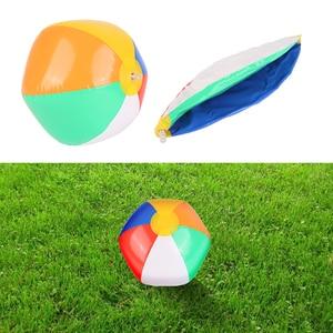 Pelotas hinchables coloridas de 23CM para playa, juguetes deportivos para exteriores, Flotadores para piscina, vacaciones de verano