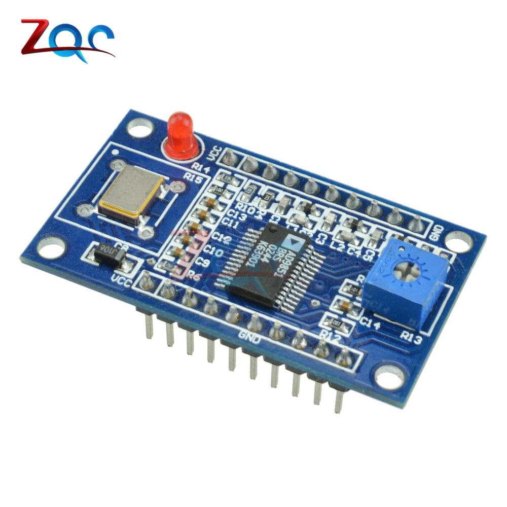 AD9851 DDS Signal Generator Module With 0-70MHz 2 Sin Wave Square Wave Low-Pass Filter