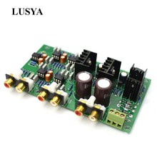 Lusya NE5532 może dostosować 2 zakres 2 way głośnik aktywny dzielnik częstotliwości Crossover linkwitz riley obwodu DSP A8 014