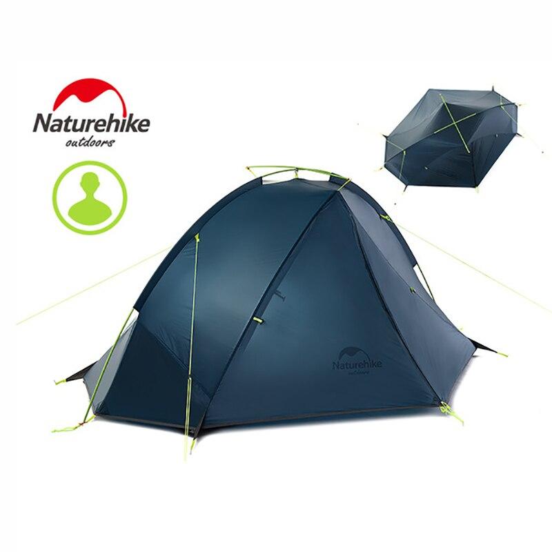 Naturehike 1-2 человек Кемпинг палатки tagar езда пеший Туризм Открытый Палатка алюминиевый полюс Сверхлегкий портативный NH палатка двойной слой
