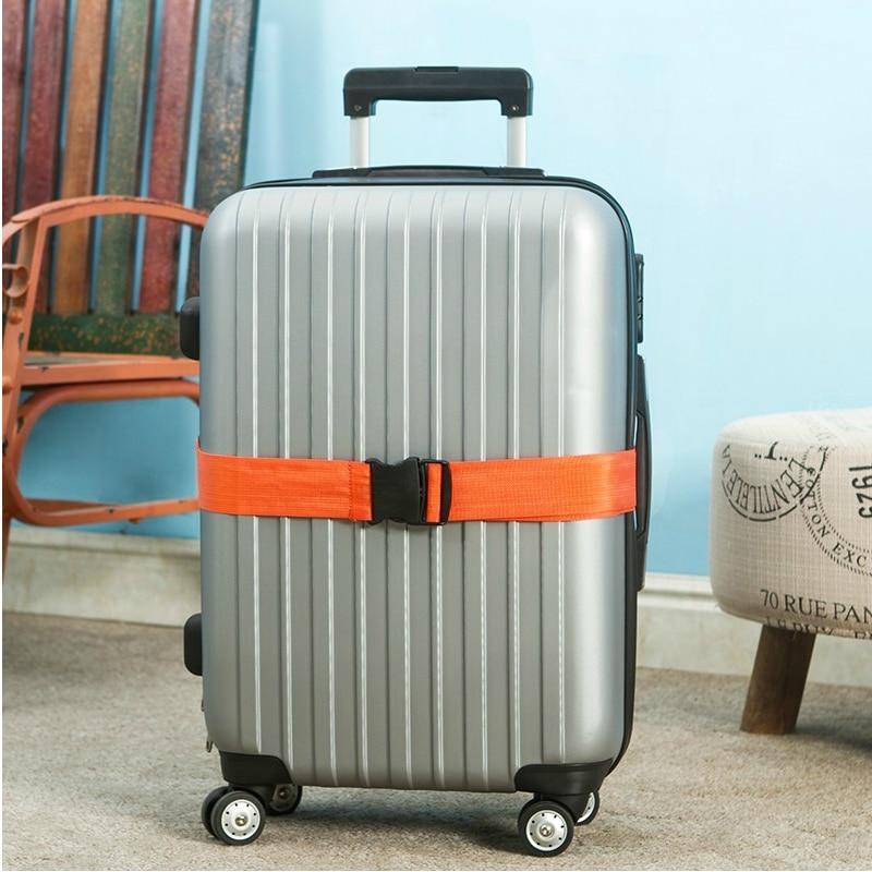 Ourdoor Travel Klasik Praktis Tali Bagasi Adjustable Sabuk Koper - Aksesori perjalanan - Foto 5