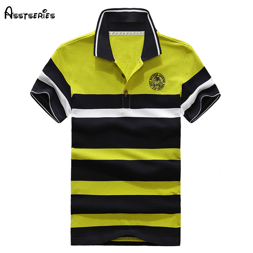 Free Shipping Brand Men Striped   Polo   Shirts Fashion Short Sleeves Business Slim Fit   Polo   Shirt For Men Top Quality D68