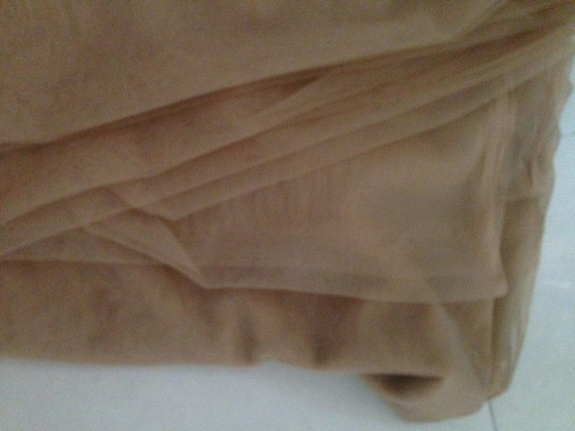160cm Width 30meters Tan Skin Nude Color High Quality Soft Thin Transparent