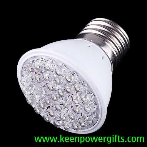 200-240V 50Hz 1.8W E27 38 LED Bulb Light, Free Shipping, Retail