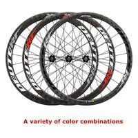 DEYTER carbon fiber road wheel set DT350 hub road bike wheels open tire vacuum tube tire Belgium sapim broken flat spokes