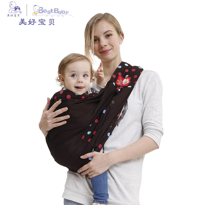 Multi-functional baby carrier Baby Ergonomic Sling Carrier Toddler Breathable 100% Cotton Backpack Infant Suspenders Newborned multi function comfortable baby carrier sling red grey