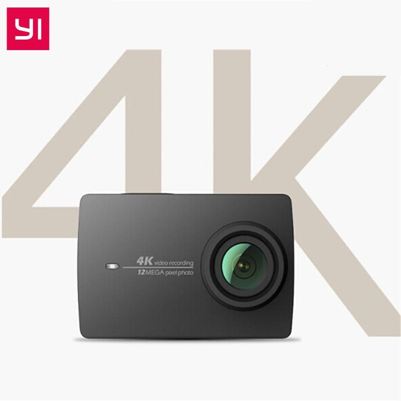 YI 4 K D'action Caméra Télécommande 4 K/30 2.19 Écran Retina HD IMX377 12MP 155 Degrés EIS PMA Xiaomi YI Sport Action Caméra