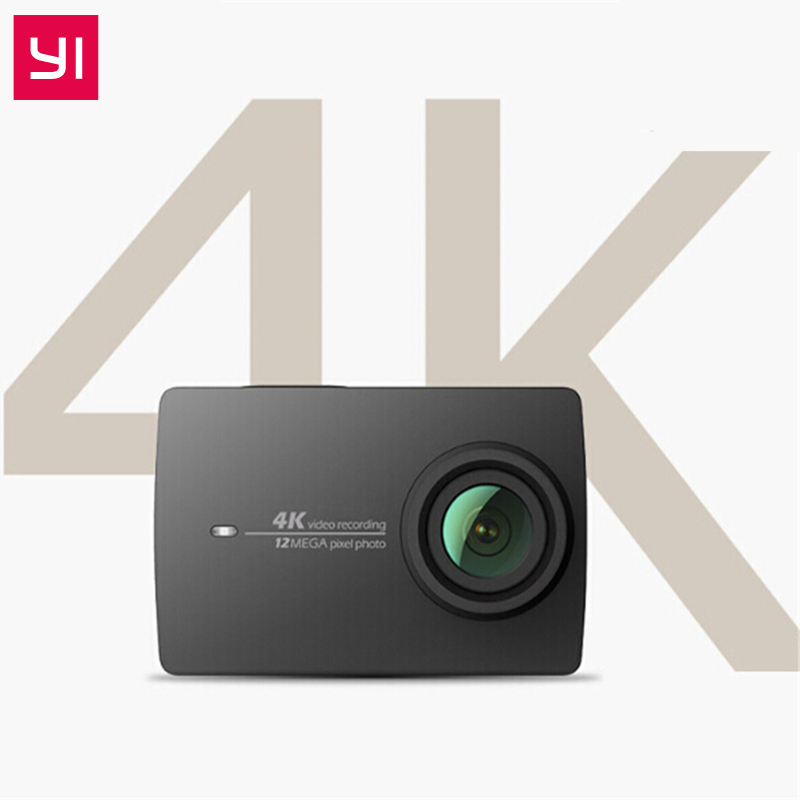 YI 4K Action Camera Remote Control 4K/30 2.19 Retina Screen HD IMX377 12MP 155 Degree EIS LDC Xiaomi YI Sport Action Camera