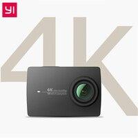 YI 4K Action Camera Ambarella A9SE ARM 4K/30 2.19 Retina Screen HD IMX377 12MP 155 Degree EIS LDC Xiaomi YI Sport Action Camera
