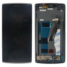 LCD Touch Screen Digitizer display W/Frame Assembly For Oneplus One 1+ A0001 High Quality