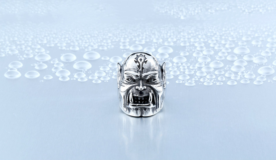 World Of Warcraft ORC Horde Ring