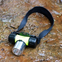 YUPARD Underwater 1000 Lumen XM-L XML T6 Headlamp bright LED Waterproof 60m Swimming Diving Headlight Dive Head Light Torch Lamp