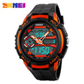50M Waterproof Mens Sports Watches Relogio Masculino 2017 Hot Men Silicone Sport Watch Reloj S Shockproof Electronic Wristwatch