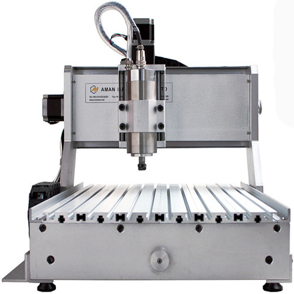 Aman 3040 4 assi macchina per incidere di cnc macchina utensile - Attrezzature per la lavorazione del legno - Fotografia 1