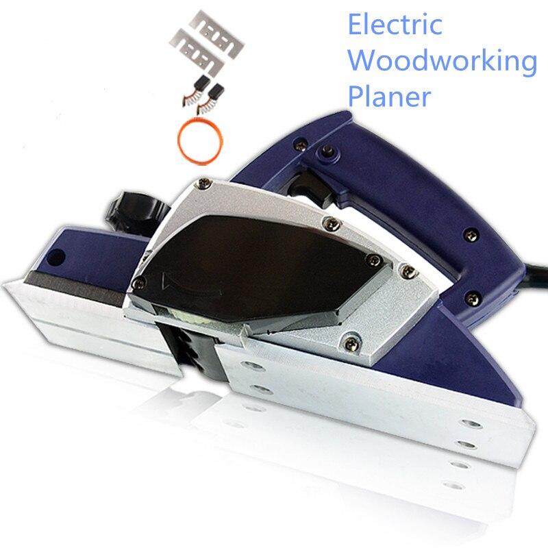 Electric Planer 220v/50hz Woodworking Planer Max Cutting Width 82mm Depth: 1mm