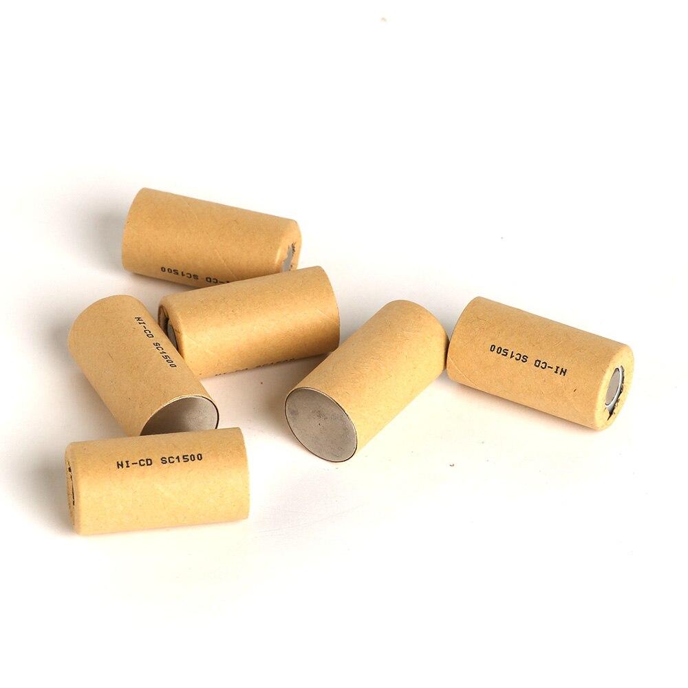 Sc1500mah 5 шт., высокая Мощность батарея, Мощность инструмент батареи, Мощность ячейки, ni-cd, аккумуляторами, аккумулятор пакет, разряда 12C ...