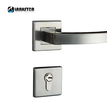 Factory Long Term Supply Stainless Steel Interior Door Lock Handle Split Locks Durable Consumption Preferential Indoor-locks